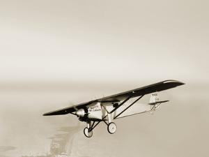Lindbergh's Spirit of St Louis Airplane by Detlev Van Ravenswaay