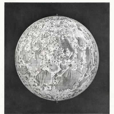 Lunar Map of 1854