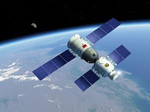 Shenzhou 5 Spaceflight, Artwork by Detlev Van Ravenswaay