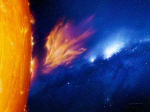 Solar Flare by Detlev Van Ravenswaay