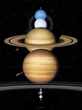 Solar System Planets by Detlev Van Ravenswaay