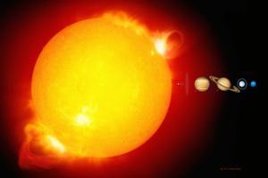 Sun And Its Planets by Detlev Van Ravenswaay