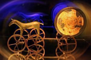 Trundholm Sun Chariot by Detlev Van Ravenswaay