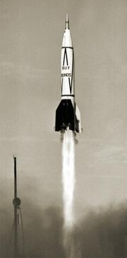 V-2 Rocket Launch In USA by Detlev Van Ravenswaay