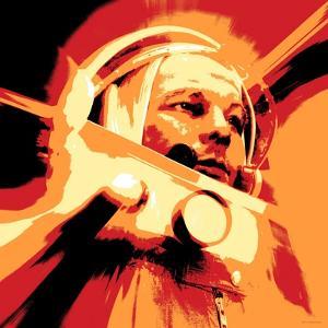Yuri Gagarin, Soviet Cosmonaut, Artwork by Detlev Van Ravenswaay