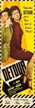 Detour, Tom Neal, Ann Savage, 1945