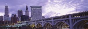Detroit Avenue Bridge, Cleveland, Ohio, USA