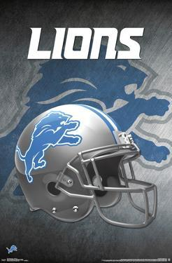 Detroit Lions - Helmet 17