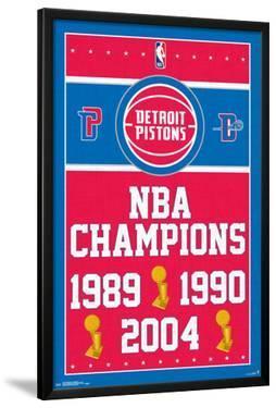 Detroit Pistons - Champions