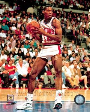 Detroit Pistons - Dennis Rodman Photo