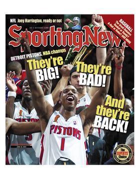Detroit Pistons G Chauncey Billups - NBA Champions - June 28, 2004