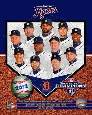 Detroit Tigers 2012 American League Champions Composite