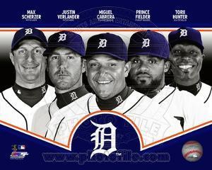 Detroit Tigers 2013 Team Composite
