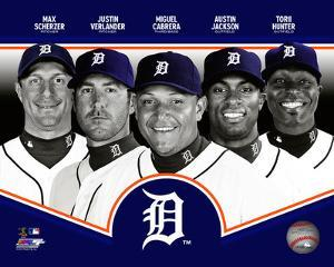 Detroit Tigers 2013 Team Composite