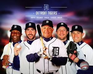 Detroit Tigers 2014 Team Composite