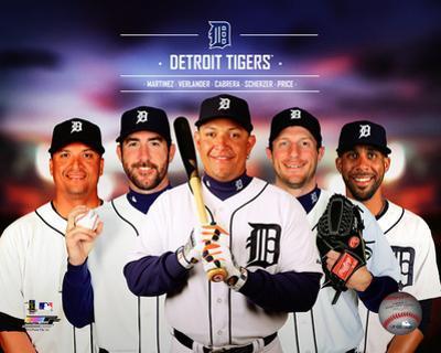 Detroit Tigers 2014 Team Composite