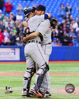 Detroit Tigers - Alex Avila, Justin Verlander Photo