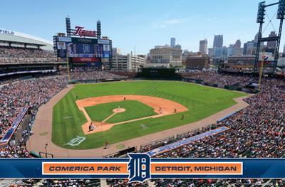 Detroit Tigers - Comerica Park 14
