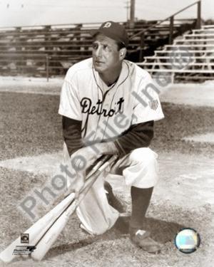 Detroit Tigers - Hank Greenberg Photo
