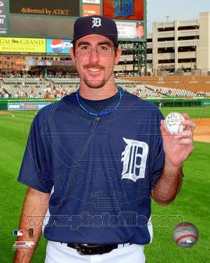 Detroit Tigers - Justin Verlander Photo