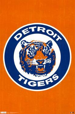Detroit Tigers Retro Logo
