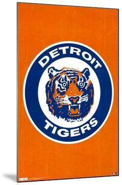 Detroit Tigers Retro Logo