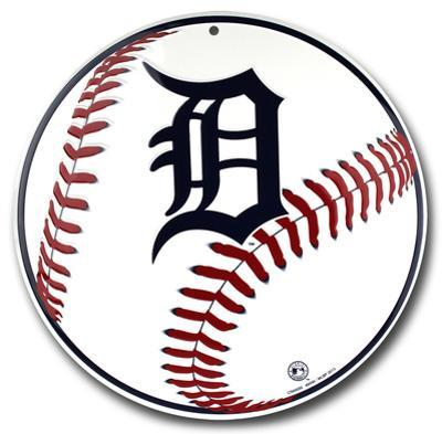 Detroit Tigers Tin Sign
