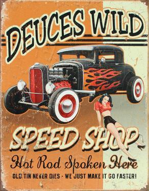 Deuces Wild Speed Shop Hot Rod