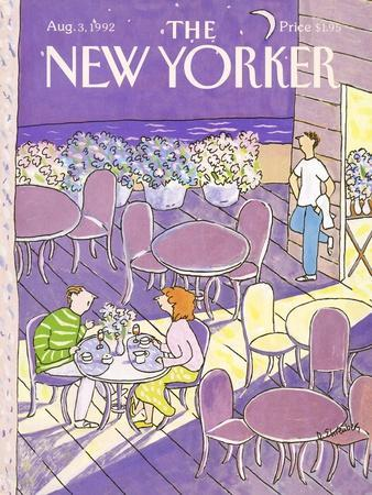 The New Yorker Cover - August 3, 1992