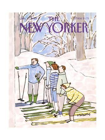 The New Yorker Cover - January 11, 1988