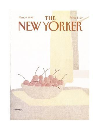 The New Yorker Cover - March 8, 1982 by Devera Ehrenberg