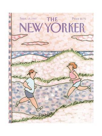 The New Yorker Cover - September 14, 1987