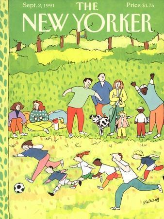 The New Yorker Cover - September 2, 1991