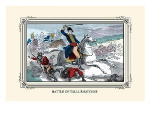 Battle of Tallushatchee by Devereux