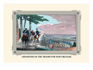 Departure of the Troops for New Orleans by Devereux