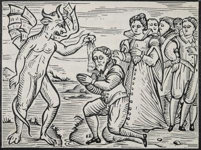 Devil Baptizing Sorcerer