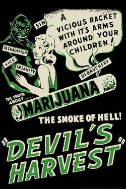 Devil's Harvest Movie by Retro-A-Go-Go Poster