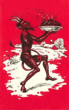 Devil with Steaming Apples