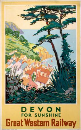 Devon for Sunshine, GWR, c.1923-1947