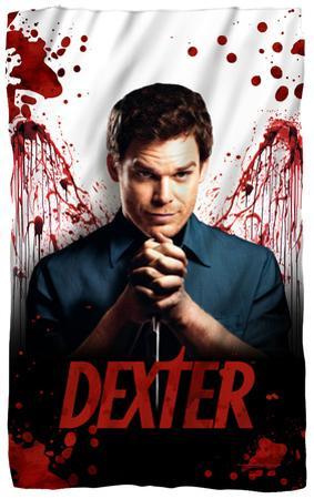 Dexter - Blood Never Lies Fleece Blanket