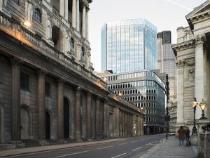 Buildings in City of London by Deyan Georgiev