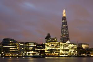 City of London on Thames by Deyan Georgiev