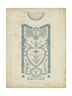 Garden Design in Blue III by DeZallier d'Argenville
