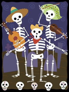 Dia de los Muertos Skeletons