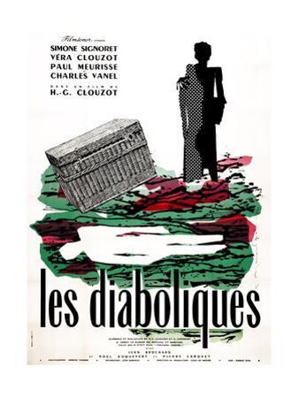 Diabolique, (AKA Les Diaboliques), Dutch Poster, 1955