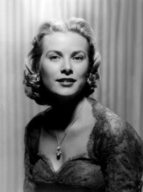 DIAL M FOR MURDER, 1954 directed by ALFRED HITCHCOCK Grace Kelly (b/w photo)