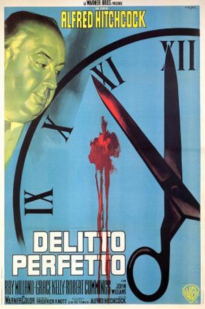 Dial M For Murder, Italian Movie Poster, 1954