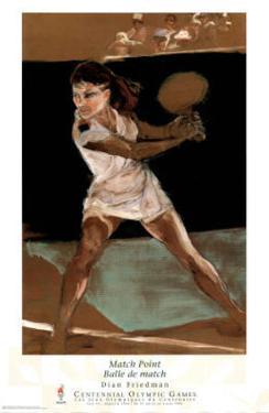 Match Point Tennis Atlanta, c.1996 Olympics Offiial Sports by Dian R. Friedman