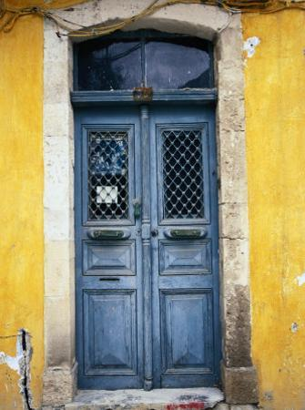 Doorway in Old Venetian Quarter, Hania, Crete, Greece by Diana Mayfield