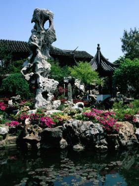 Lingering Gardens, Suzhou, Jiangsu, China by Diana Mayfield
